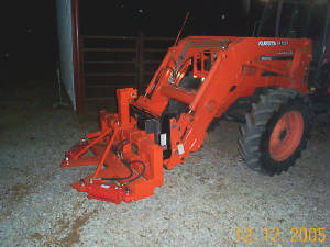 Hyd Tree Shears for 3-point, Front End Loader, and Skidsteer
