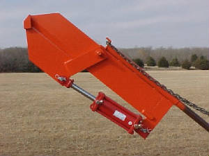 Hydraulic Limb Clipper to fit Bale Spike on Front End Loader